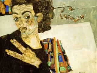 Autoportrait de Schiele